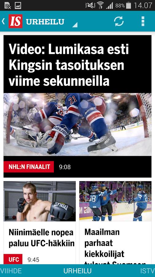 Ilta-Sanomat - screenshot