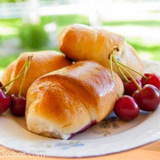 Buchty - Sweet Cherry Filled Buns