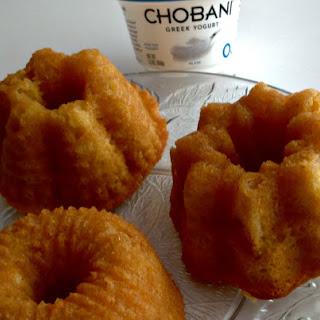 Baileys Irish Cream Cakes with Chobani Yogurt