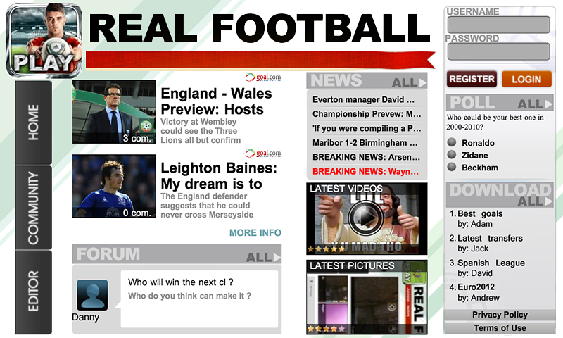 Real Football 2012- screenshot