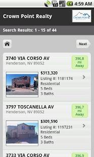 Las Vegas Home Search- screenshot thumbnail