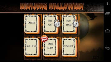 Screenshot of Mahjong Halloween
