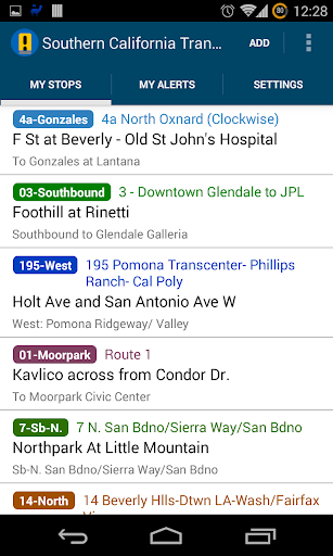 South California Transit Alert
