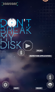 Don't break my disc Capture d'écran