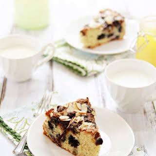 Blueberry Lemon Curd Coffee Cake.