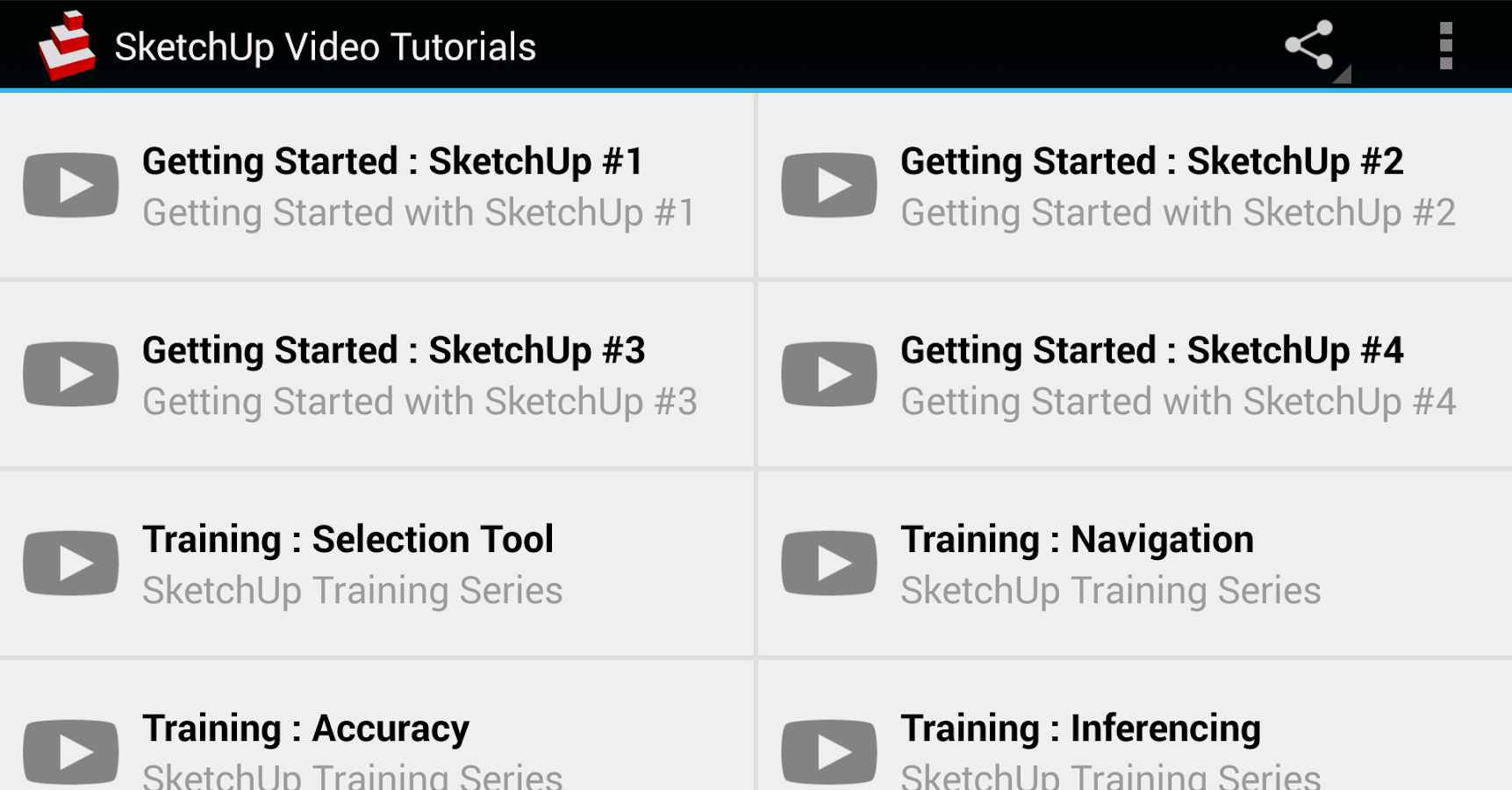 SketchUp Video Tutorials- screenshot