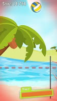 Screenshot of Sonic Volleyball Beach