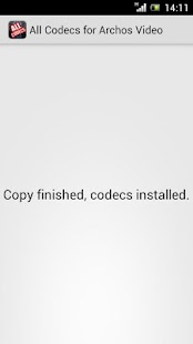 【免費媒體與影片App】Archos Video All Codecs Plugin-APP點子