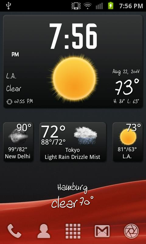 BeWeather & Widgets Pro - screenshot