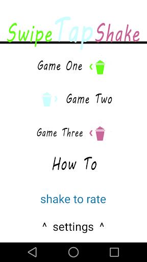 Swipe Tap Shake