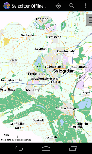 Salzgitter Offline City Map