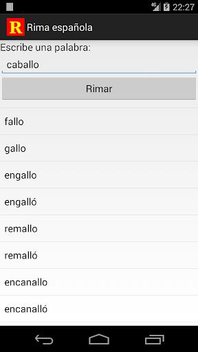 Rima Española