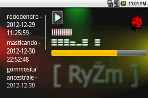 RyZm FULL FREE sequencer- screenshot