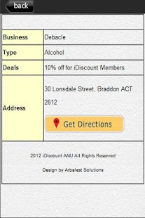 iDiscount ANU - screenshot thumbnail
