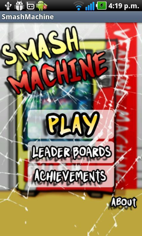 smash machine