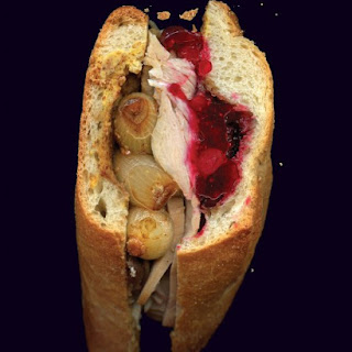 Turkey and Onion Sandwich