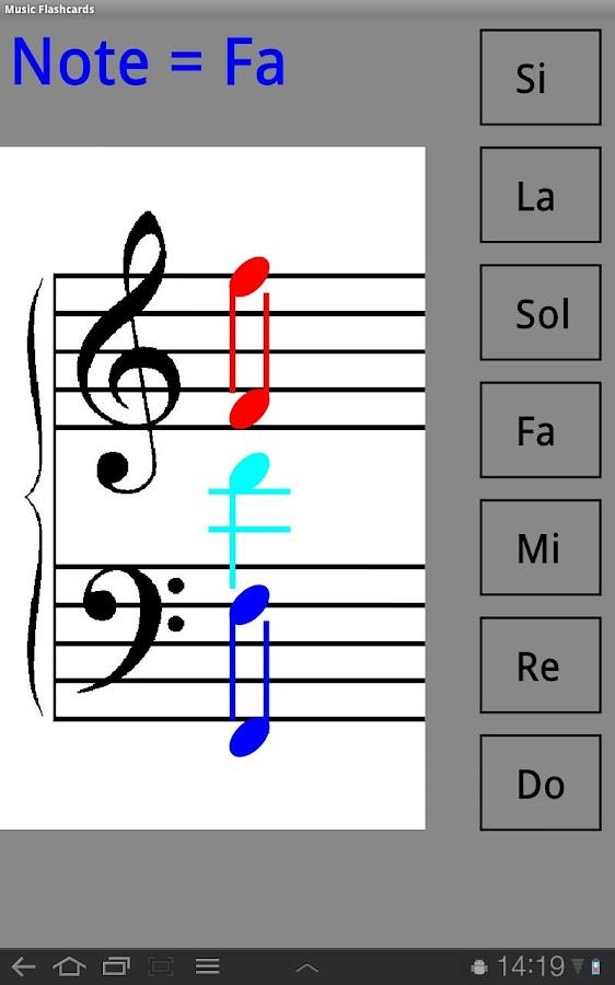 Music Flashcards- screenshot