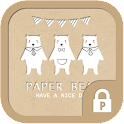 Paper bear protector theme