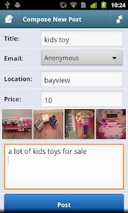 City Shop - Craigslist App- screenshot thumbnail