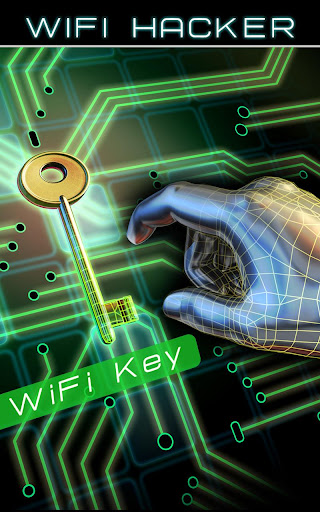 いたずらのWiFiのパスワードハッカー