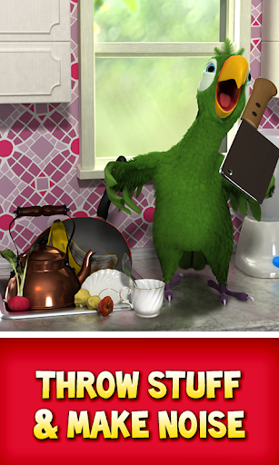 Talking Pierre the Parrot 3.4 screenshots 2