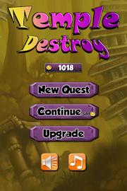 Destroy the Temple Captura de pantalla 1