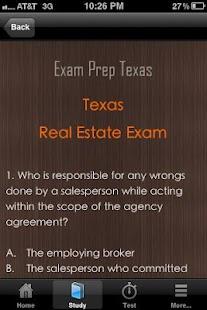 Texas Real Estate Exam Prep TX- screenshot thumbnail