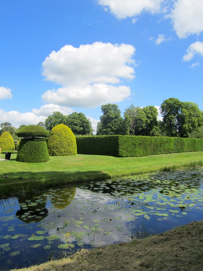 Hever Castle Gardens by Viive Selg - Landscapes Cloud Formations ( , renewal, green, trees, forests, nature, natural, scenic, relaxing, meditation, the mood factory, mood, emotions, jade, revive, inspirational, earthly )