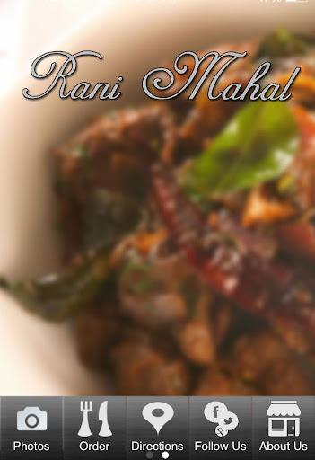 Rani Mahal Fine Indian Cuisine