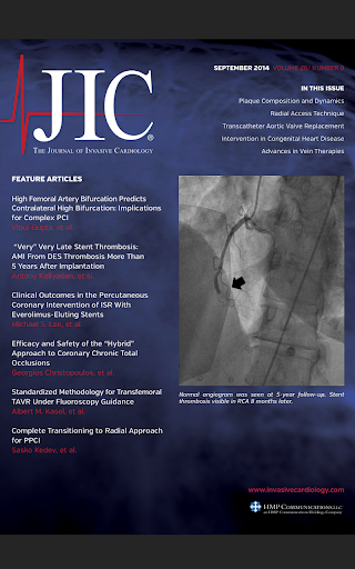 Journal of Invasive Cardiology