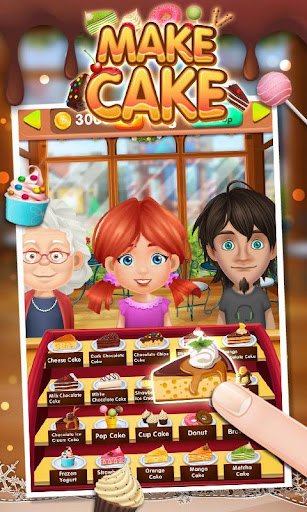 Cake Maker Story для планшетов на Android