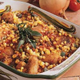 Barbecue Chicken Casserole.