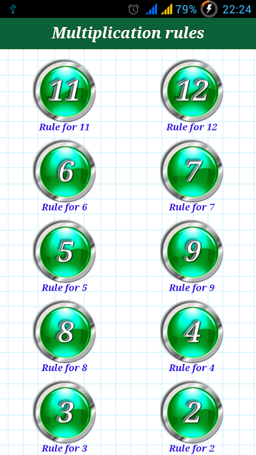 Multiply Without Times Table- screenshot