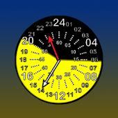 Sunrise Clock Widget