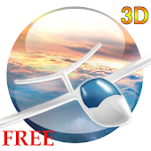 Flight in the sky 3D FREE LWP