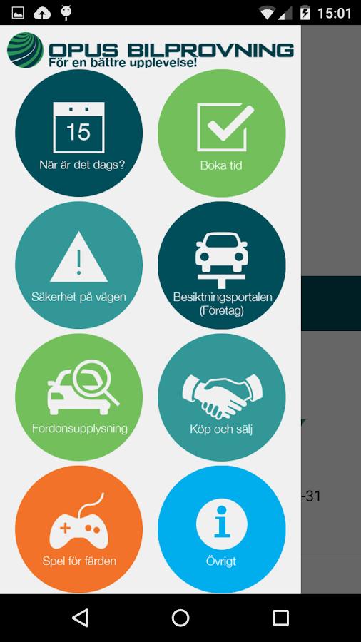 Opus Bilprovning - screenshot