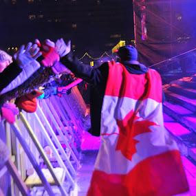 Captain Canada by David Chu - Public Holidays New Year's Eve ( #toronto @canada #year of the horse 2014 @go4david @chu @cbcnews @david @kha0s productions @news @toronto @ontpoli @cdnpoli @trin-spa @kensington market @chinatown @city new year's celebration 2014 )