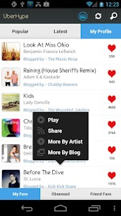 UberHype for Hype Machine Screenshot 8