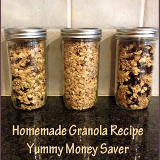 Homemade Granola Recipe – Yummy Money Saver