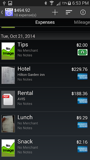Expense Tracking Add On
