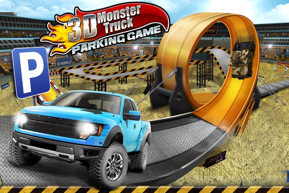 Monster Truck Parking Game Android Apps On Google Play