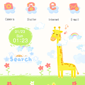CUKI Theme Happy Giraffe