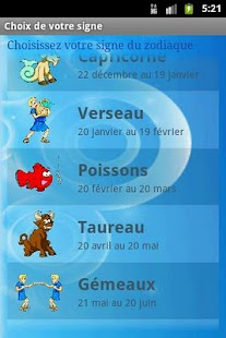 Horoscope français - screenshot thumbnail