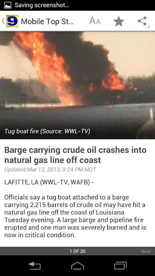 WAFB Local News - screenshot