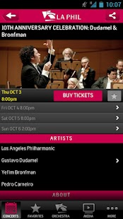 LA Phil - screenshot thumbnail