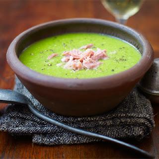 Yummingly Easy Pea & Bacon Soup