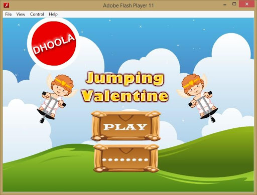 Jumping Valentine