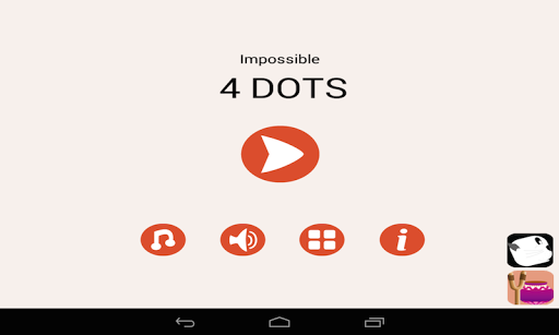 Impossible 4 Dots