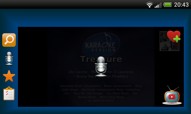 Karaoke Mode- screenshot