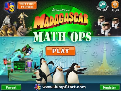 Madagascar Math Ops Free- screenshot thumbnail